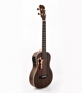 Caramel CB500 30 Inch All Rosewood Baritone Acoustic-Electric Ukulele