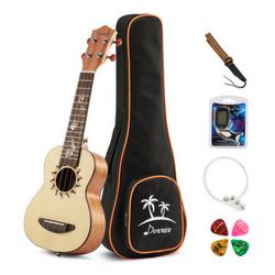 donner soprano ukulele spruce DUS-3