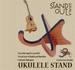 Kala Mahogany Ukulele Stand Out