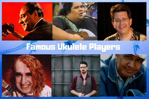 famous ukulele players