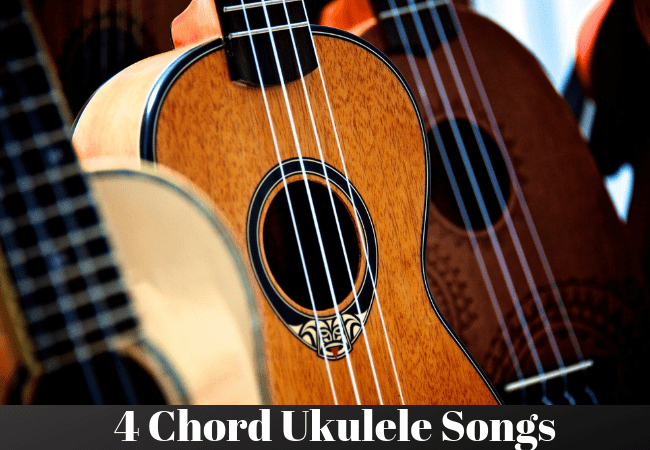 4 Chord Ukulele Songs