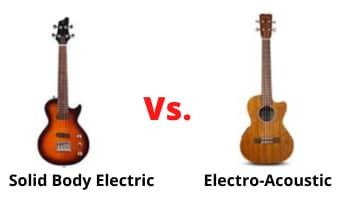 electric ukulele body types