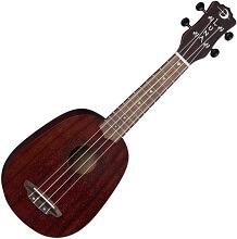luna vintage mahogany baritone ukulele