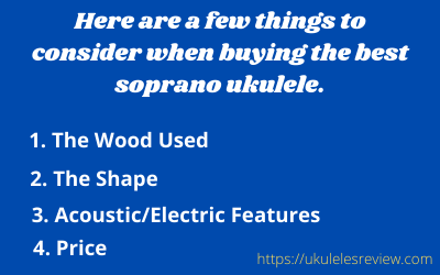 Sprano Ukes Buying Guide