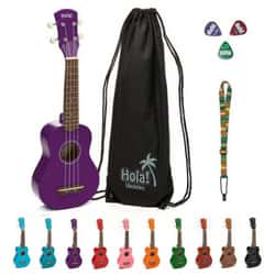 soprano ukulele bundel by Hola Music