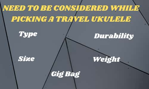 Travel Ukulele Buying Guide