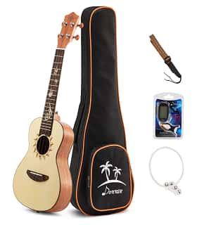 donner concert ukulele