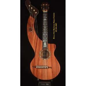 Bruce Wei Harp Baritone Ukulele